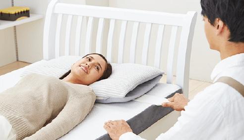 寝具を身体に合わせる